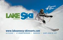 Lake Annecy Ski Resorts