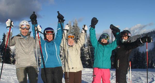 Women's Ski Courses