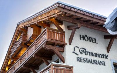 SEPTEMBER ABOVE SAINT GERVAIS – L'Armancette Hotel